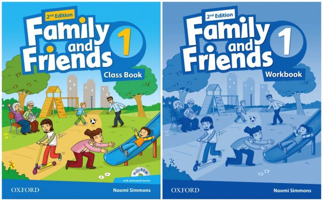 Учебный курс Family and Friends 2nd edition