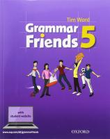Grammar Friends 5. Student's Book