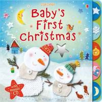Baby's first Christmas (with music CD)