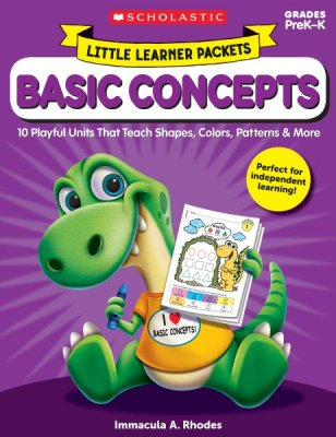 Little Learner Packets: Basic Concepts : 10 Playful Units That Teach Shapes, Colors, Patterns & More
