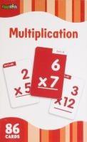 Multiplication Flashcards (88 cards)