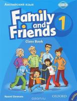 Family and Friends 1: Class Book and MultiROM Pack (Russian Edition)