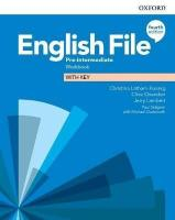 English File (4th edition) Pre-Intermediate Workbook with key
