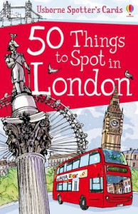 50 Things to spot in London — Cards