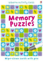 Memory Puzzles. Activity cards