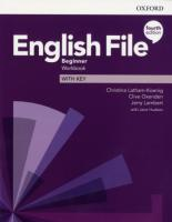English File (4th edition) Beginner Workbook with key