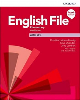 English File (4th edition) Elementary Workbook with key