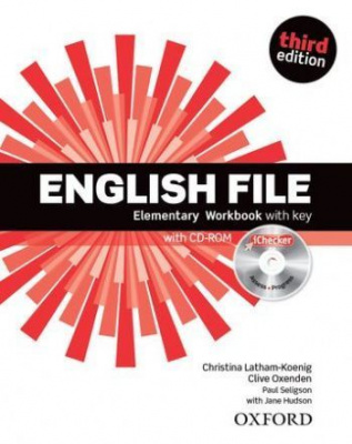 English File (3rd edition) Elementary: Workbook with key and iChecker Pack