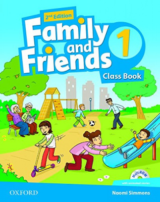 Family and Friends (2nd edition) 1: Class Book and MultiROM Pack