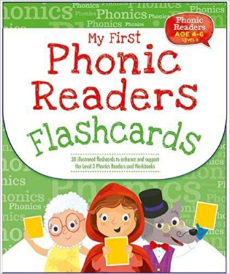 Phonic Readers Age 4-6 Level 3: My First Phonic Readers Flashcards