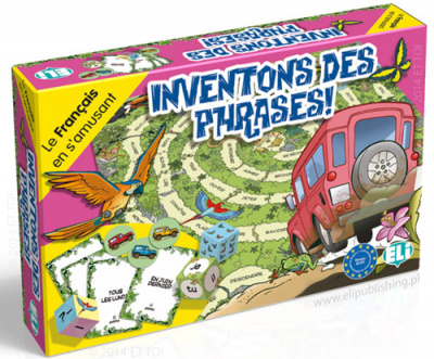 GAMES: FRENCH: [A2-B1]: INVENTONS DES PHRASES !