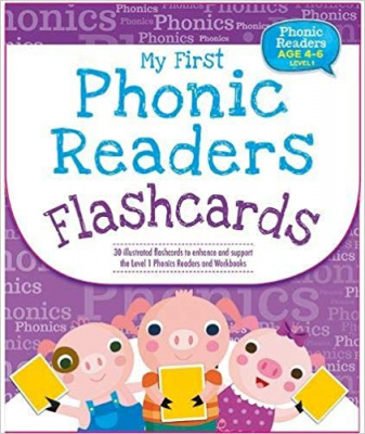 Phonic Readers Age 4-6 Level 1: My First Phonic Readers Flashcards