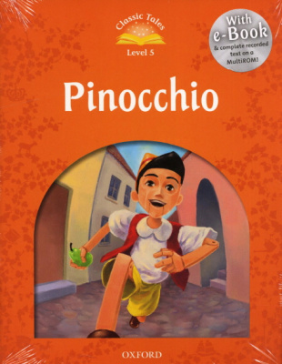 Classic Tales Second Edition: Level 5: Pinocchio e-Book & Audio Pack