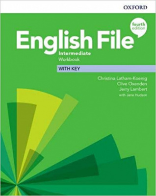 English File (4th edition) Intermediate Workbook with key
